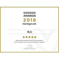 Wedding awards 2018 - BLS Taxi